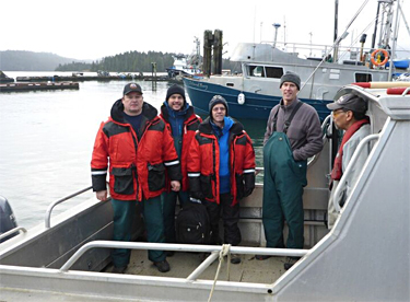 HG Shellfish Survey Team
