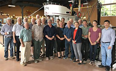 The North Vancouver Island Marine Plan Advisory Committee met with the MaPP Implementation Team in Campbell River on May 29, 2017. Photo credit: Bruce Storry.
