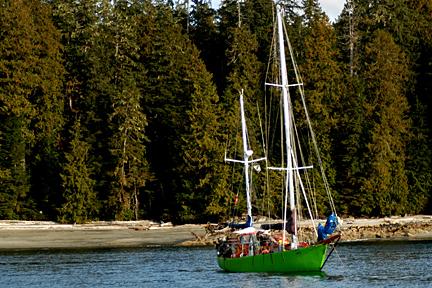 Sailboat (Photo credit: Warren Warttig)